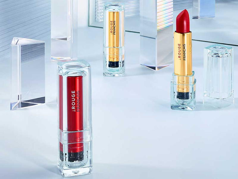 Le Rouge Français launches new lipsticks with refillable bio-based cases