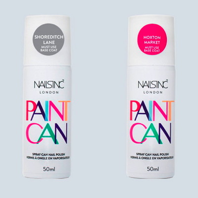 Paint Can Is Curly Available In Two Diffe Shades Sditch Lane A Mid Grey Hue And Hoxton Market Deep Pink Nailsinc