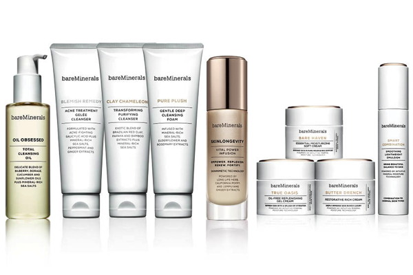 bareMinerals launches new skincare range to help women feel beautiful