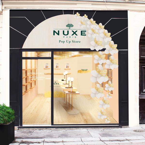 premium beauty news nuxe va ouvrir son premier pop up store au coeur de paris. Black Bedroom Furniture Sets. Home Design Ideas