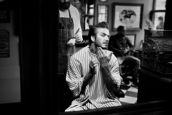 Beautiful David Beckham Is Launching a Beauty Line
