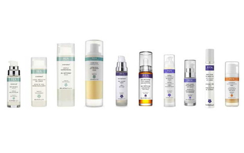 Cosmetics products brands