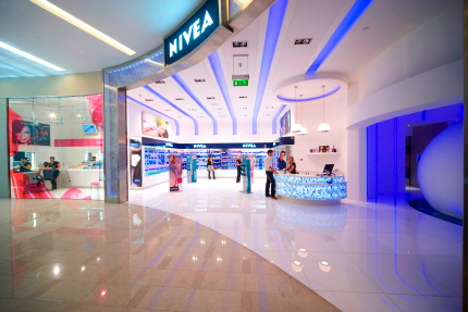 The world's second Nivea Haus opened in Dubai