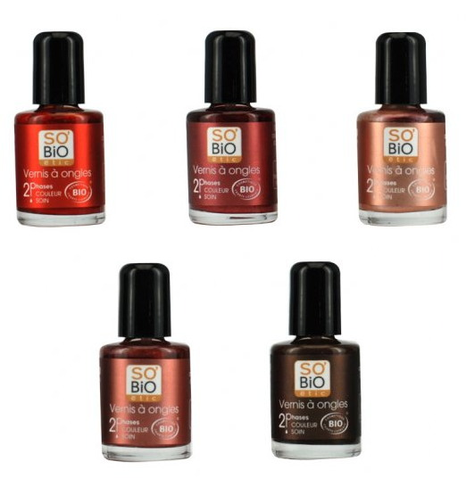 premium beauty news innovation certified organic nail polishes by so bio tic. Black Bedroom Furniture Sets. Home Design Ideas
