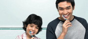 Pagi & Malam, faces of Pepsodent Indonesia campaign 2013