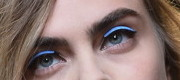 Cara Delevingne is often cited as the leader of the thick brow trend. © AFP Photo / Tiziana Fabi