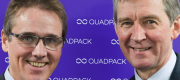 Quadpack Industries CEO Tim Eaves and Collcap founder John McDermott