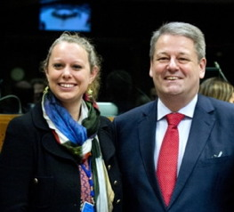 From left to right: Ms. Carole Dieschbourg, Luxembourg Minister for the Environment; Mr Andrä Rupprechter, Austrian Federal Minister for Agriculture, Forestry, the Environment and Water Management; Ms. Yvonne Ruwaida, Swedish State Secretary, on 17 December 2014 in Brussels during the EU Environment Council. Photo credit: The Council of the European Union