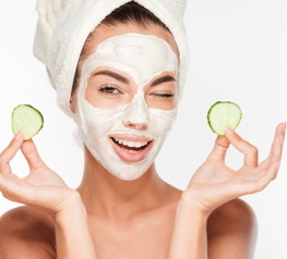 Face care masks - one of the Asia's latest innovations - continue to rise in the skincare segment with sales growing by 8% between May 2017 and April 2018. Photo : © Dean Drobot / shutterstock.com
