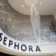 Entrance of the new Sephora Haussmann in Paris