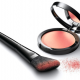 VOILE PRECIEUX powderly blush and angled blush brush made with DuPont (...)