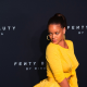 Rihanna celebrating the launch of her beauty brand, Fenty Beauty by Rihanna (...)