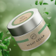 A cosmetic jar with labels from grass paper self-adhesive material of the (...)