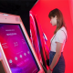 An interactive skincare wall unlocks your skin analysis results at the (...)