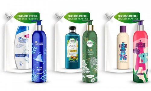 P&G tackles plastic wastes with refillable aluminium shampoo bottles