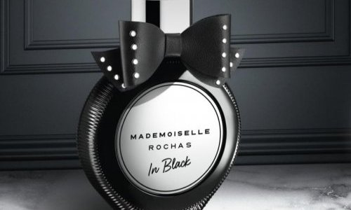 Stoelzle signs the new Mademoiselle Rochas In Black