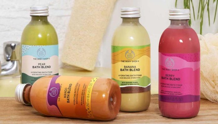 Avec Bath Blend, The Body Shop mise sur le succès de l'upcycling