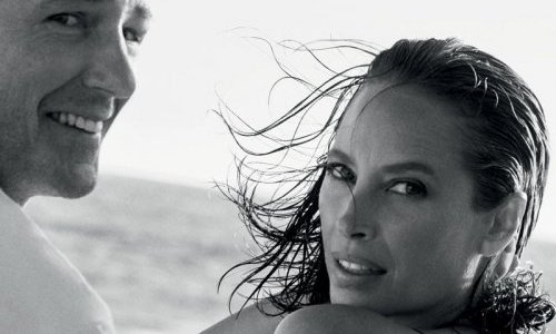 Christy Turlington makes return as Calvin Klein's Eternity face