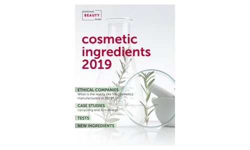 Cosmetic ingredients 2019