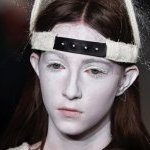 Make-up blanc chez Rick Owens