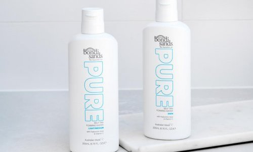 Silgan Dispensing's foam solution featured in Bondi Sands' new tanning line