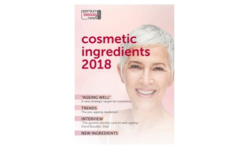 Cosmetic ingredients 2018