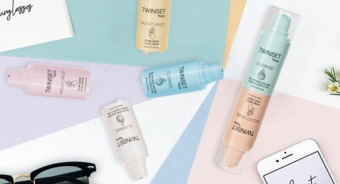 TwinSet airless duo, la solution d'Aptar pour l'hygiène et le soin des mains