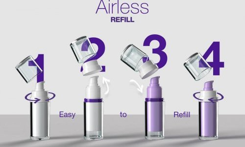 Quadpack unveils refillable version of best-selling airless dispenser range