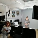 Tournage des interviews capsules chez Toys Films : Nelly Michel, Directrice Grands Comptes