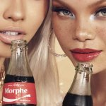 Coca-Cola et Morphe font équipe autour d'une collection de maquillage. (Photo : © Courtesy of Coca-Cola x Morphe)