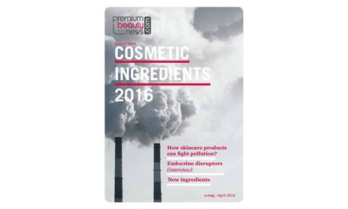 Cosmetic ingredients 2016