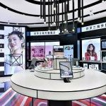 "The first show room presenting cross-border beauty products with ""cloud shelves"" in a physical Sephora store in China."
