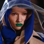 Green lipstick at Maison Margiela