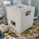 New Headquarters Located in Yongsan, Seoul. - Photo: Courtesy of Amorepacific Group