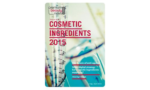 Cosmetic ingredients 2015