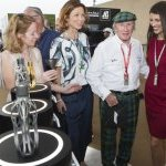 F1 legend SirJackie Stewart at the Launch of the F1 fragrance at the Formula 1 Etihad Airways Grand Prix, Yas Marina Circuit on November 30, 2019 in Abu Dhabi
