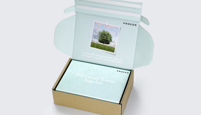 Procos targets luxury e-commerce growth with new premium green boxes