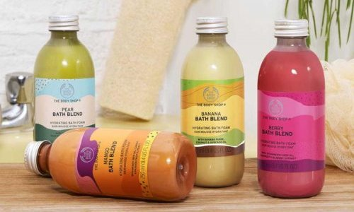 With Bath Blend, The Body Shop is banking on the success of upcycling