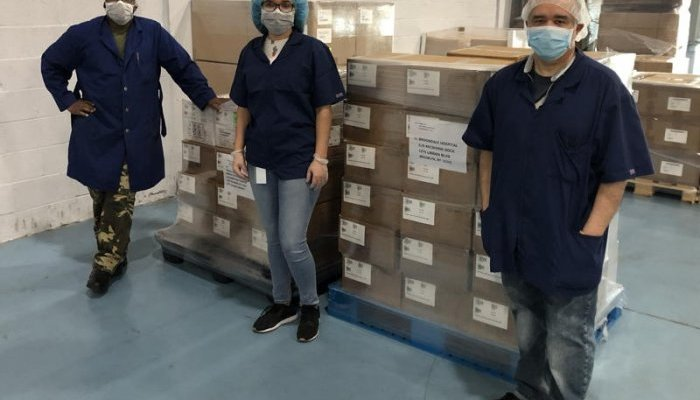 Qosina donates personal protection equipment in support of health care workers