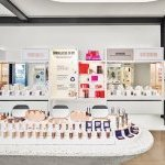 The new Beautycounter store features a product-focused store in front, with the livestream studio in back.