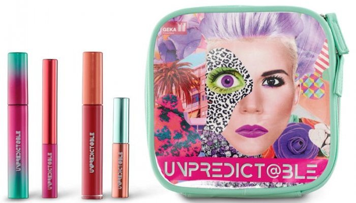 "Geka's new make-up collection is ""unpredict@ble"""