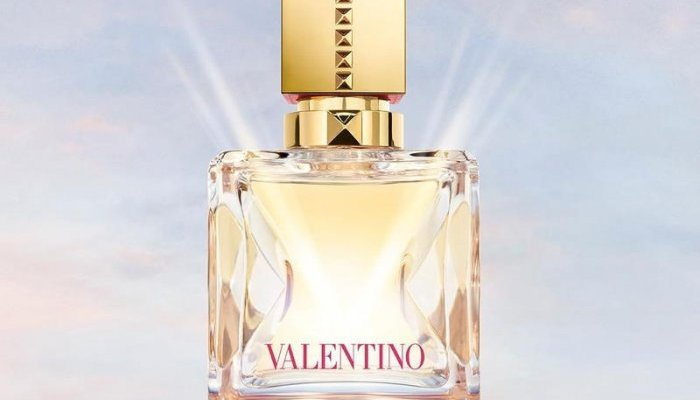 Verescence produces Valentino Beauty's Voce Viva bottle