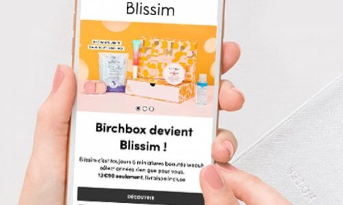 Birchbox France changes name to Blissim