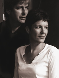 Patrick Lions and Valérie Roubaud, the two co-founders of Terre d'Oc