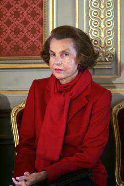 L'Oréal heiress Liliane Bettencourt - © Patrick Kovarik / AFP