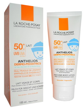 Example of a SPF50+ product sold in Europe
