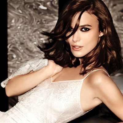 "Keira Knightley is the face of Chanel's ""Coco Mademoiselle"" in a campaign shot by Mario Testino. © Mario Testino for Chanel"