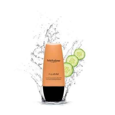 "Be + Radiant's ""Cucumber water matifying foundation BelleRadiance"" is one of..."