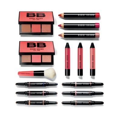 "Bobbi Brown ""Havana Brights"" collection essentials for spring 2017. © Bobbi Brown Cosmetics"