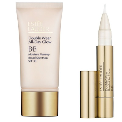 Estee Lauder's Double Wear All Day Glow BB cream is suitable for older...